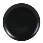 Фото Блюдо презентационное черное фарфоровое 32х2,5 см (B758035)