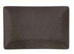 Фото Блюдо прямоугольное шоколадное 30х20х2,5 см (B2997)
