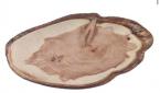Фото Доска овальная под срез дерева меланиновая 53x27x2cm (B98235053)