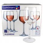 Фото Набор бокалов для вина Luminarc Allegresse 300мл-6шт (J8164)
