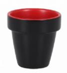 Фото Ведерко червоно-чорний 5,5х6 см (В904040С6)