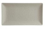 Фото Блюдо прямоугольное шоколадное фарфоровое 30х15х2 см (B3301)
