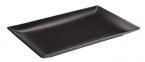 Фото Блюдо прямокутне чорне 30х15х2 см (В2976)