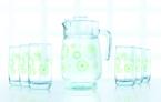 Фото Набор для напитка Luminarc Green Flakes 7пр. (L6131)