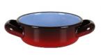 Фото Кастрюля для закусок емальована 200 мл (червона) (В217080610)