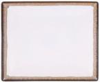 Фото Тарілка квадратна 26х26х2,5см, бежово-коричнева (В758063)