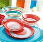 Фото Lum.Simply Colors Red.Тарілка десертна кругла 20,5см J7666
