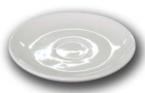 Фото Блюдце для чашки Еспресо Сієста 120мм FARN 9011ST