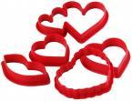 Фото Набор 6 пластиковых выемок Сердечки EMPIRE (8650)