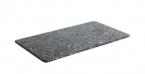 Фото Доска серая прямоугольная под гранит меланиновая 32,5x17,6x0,5 (B885257R)
