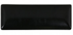 Фото Блюдо прямокутне чорне вузьке 30х8х2 см (В758012)