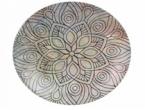 Фото Тарілка кругла керамічна  Зевс  26 см** (В981003С)