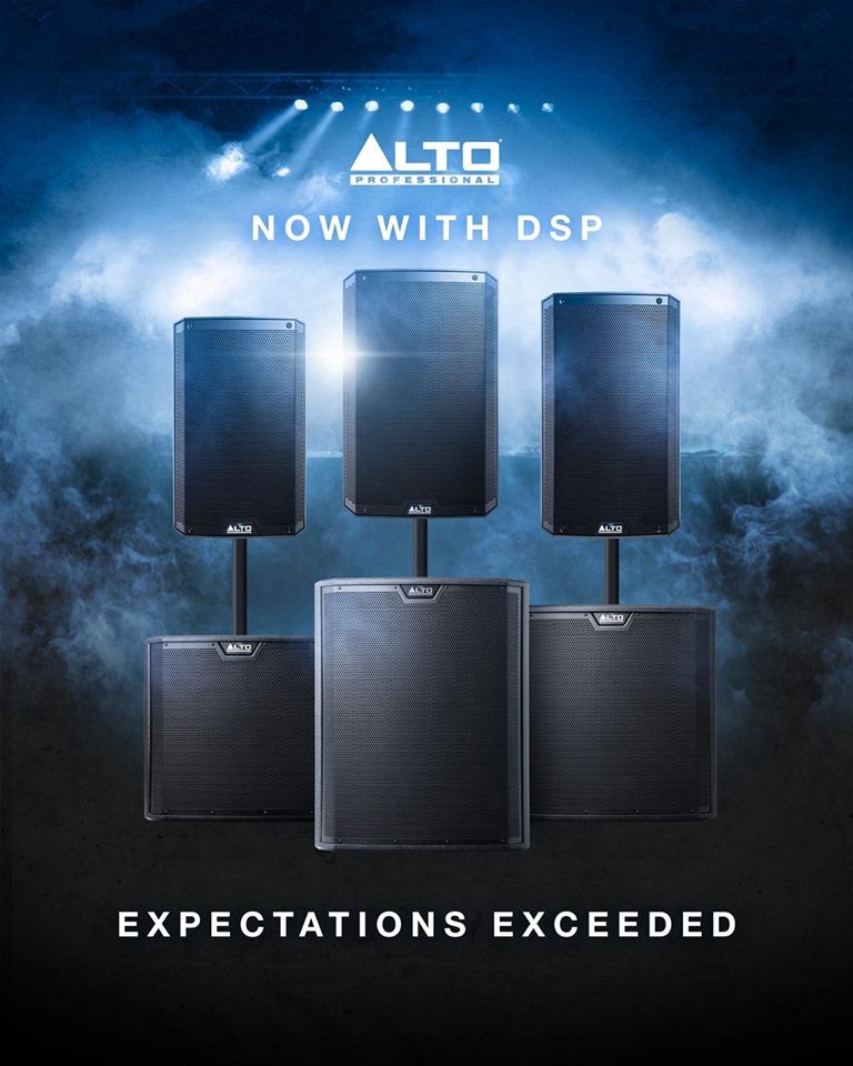 Активные сабвуферы TS третьего поколения от Alto Professional