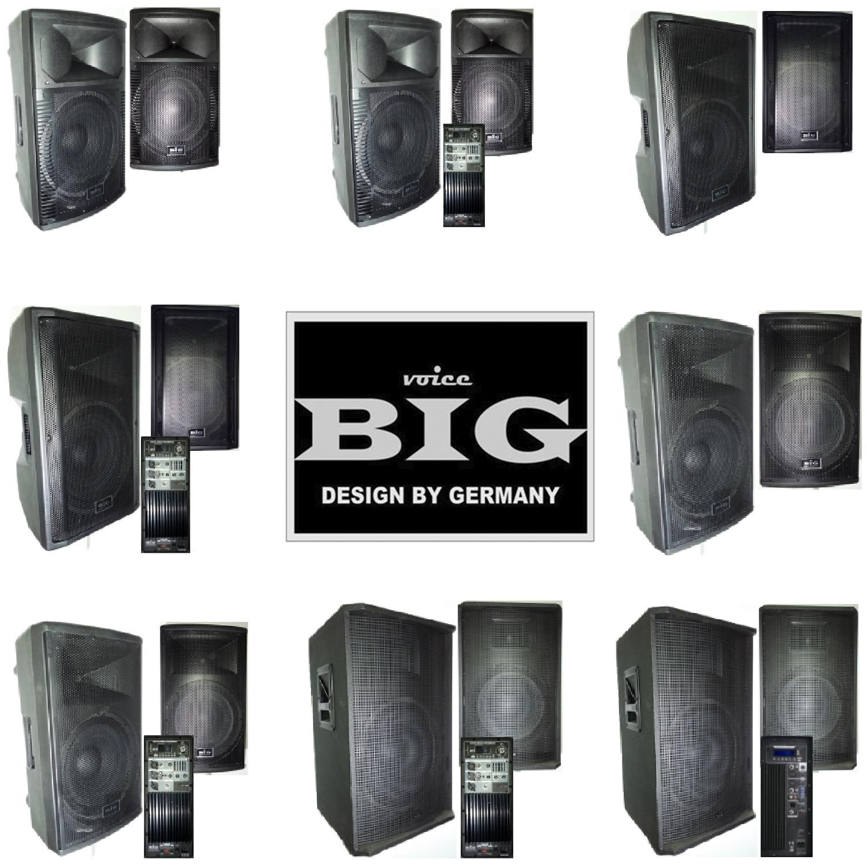 Новые акустические системы от BIG