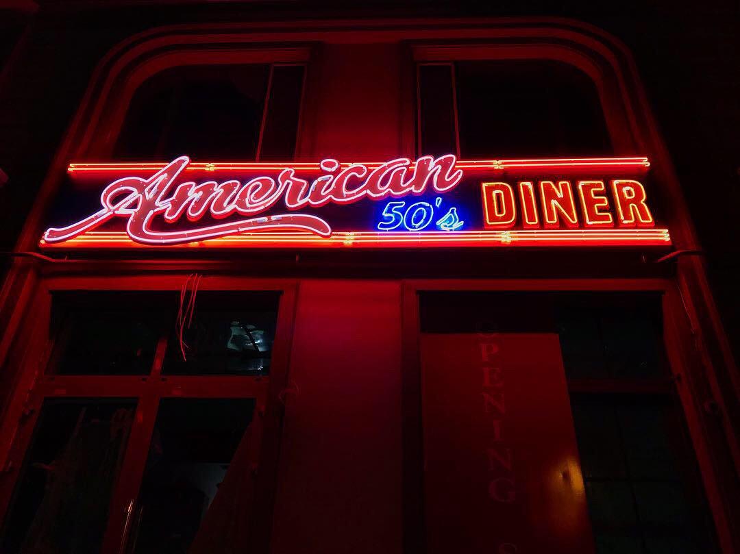 Фото Ресторан American 50s Diner г.Одесса