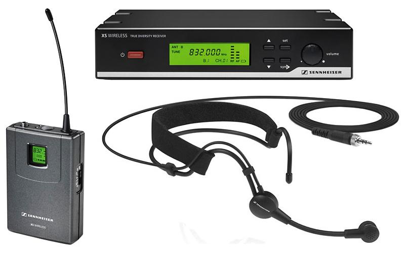 Радиосистемы с наголовным микрофоном
