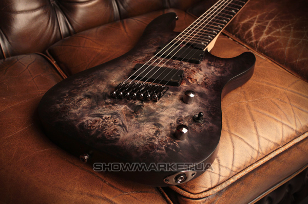 Фото Электрогитара - CORT KX500MS (Star Dust Black) L