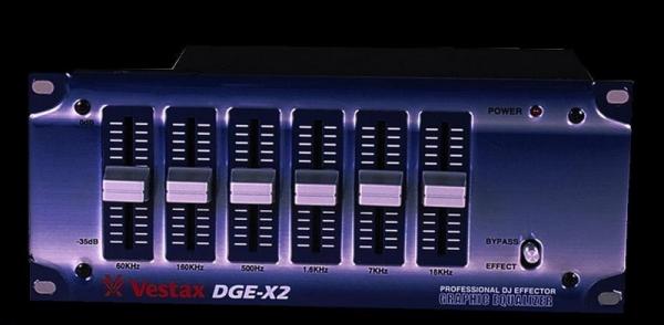 Фото Графический эквалайзер Vestax DGE-X2 L