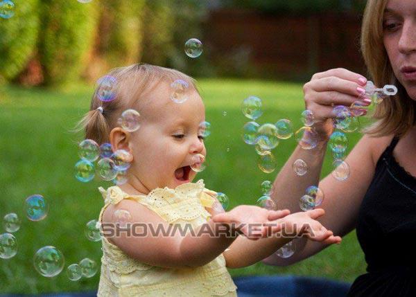 Фото Жидкость для мыльных пузырей Eurolite KIDS BUBBLES 250ml L
