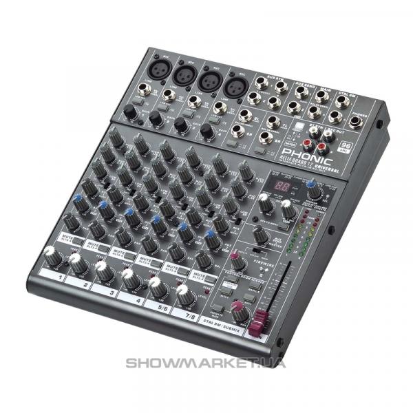 Фото Микшеры с usb и firewire - интерфейсами - Phonic HELIX BOARD 12 Universal L
