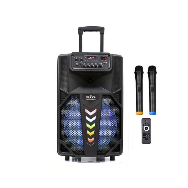 Фото Автономная акустическая система BIG240STAR USB/MP3/FM/BT/TWS + 2pcs VHF mic L