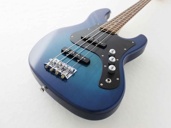 Фото Бас-гитара FUJIGEN BMJ-G MIGHTY JAZZ BOUNDARY SERIES (Transparent Blue Sunburst) L