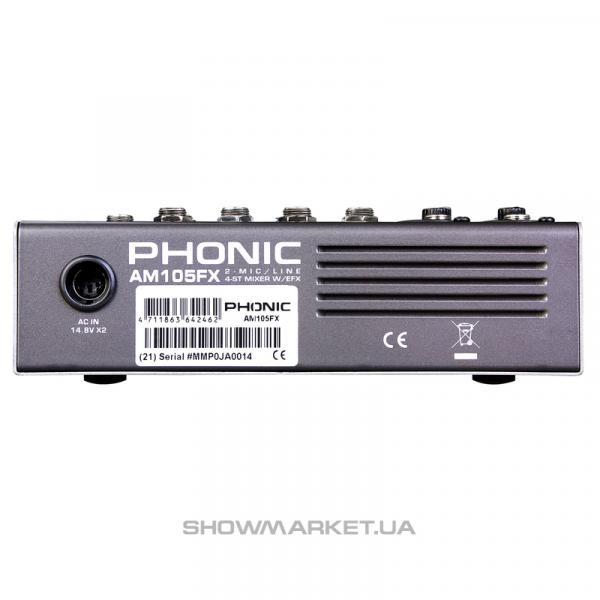 Фото Микшерный пульт - Phonic AM 105 FX L