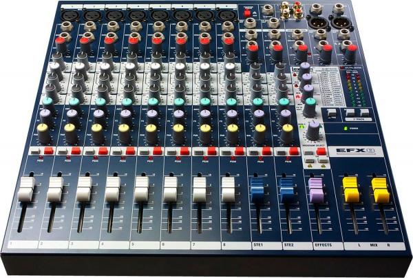 Фото Микшерный пульт JB sound EFX 8 L