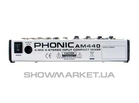 Фото Микшерный пульт - Phonic AM 440 W L