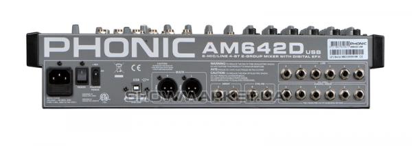 Фото Микшерный пульт - Phonic AM 642D USB L
