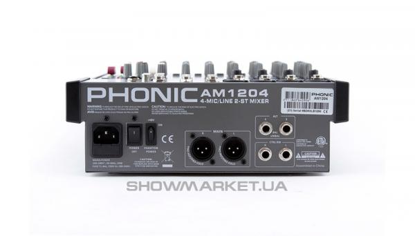 Фото Микшерный пульт - Phonic AM 1204 L