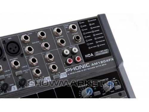 Фото Микшерный пульт - Phonic AM 1204 FX USB L