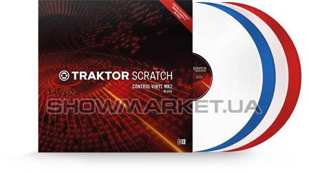Фото Виниловая пластинка - Native Instruments TRAKTOR SCRATCH Control Vinyl MK2 Blue L