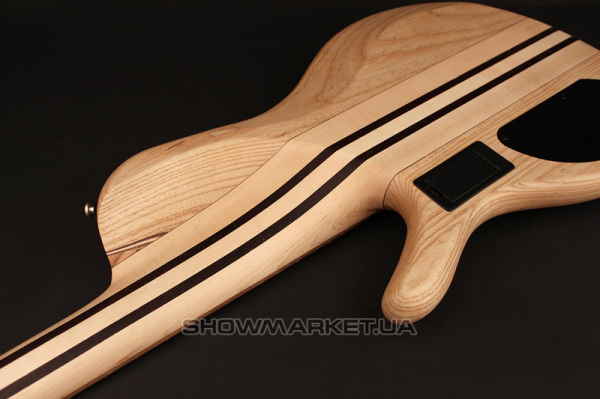 Фото Бас-гитара  - CORT A5 Plus SCMS (Open Pore Natural) w/Case L