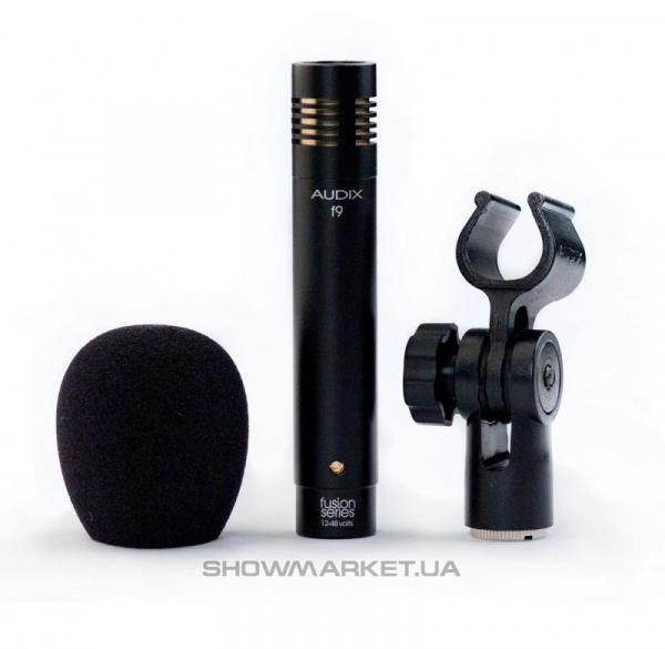 Фото Универсальный конденсаторный инструментальный микрофон AUDIX f9 L