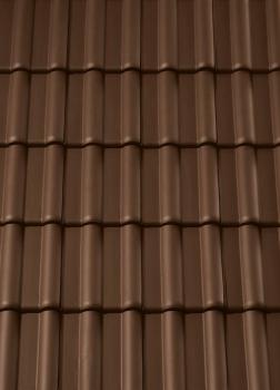 Фото 2 Creaton (Оптима) Темно-коричневая ангобированная