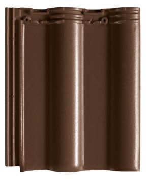 Creaton (Оптима) Темно-коричневая ангобированная
