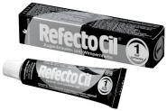 Краска для Бровей и Ресниц RefectoCil Цвет: №1 pure black (глубокий черный)