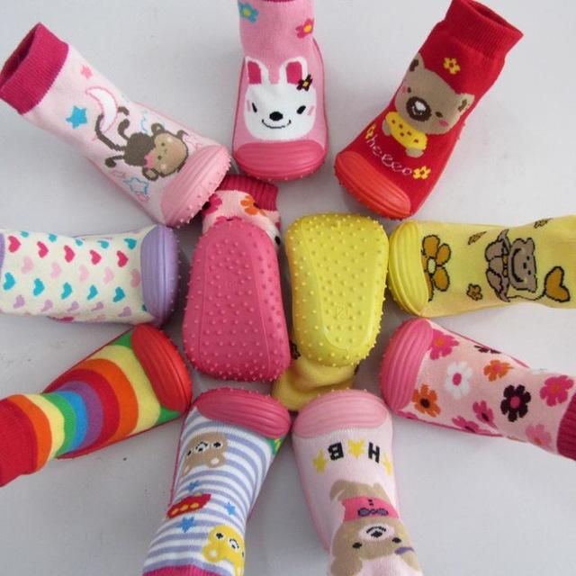 Шкарпетки з гумовой підошвою