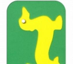Рамка-вкладыш мягкая Фигурки животных Утки