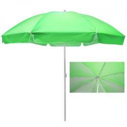 Зонт пляжный Stenson 2,5м карбоновые спицы, с серебристым покрытием, MH-3322-G