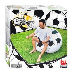 Кресло надувное детское, футбольный мяч 114-112-71см BW 75010