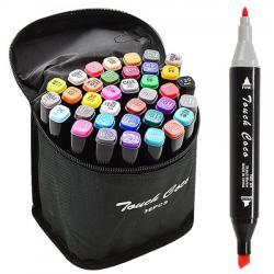 Набор маркеров Wild&Mild двусторонних 36 цветов, ST00876