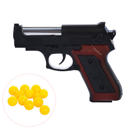 Пистолет 14см на пульках A238