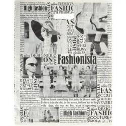 Пакет полиэтиленовый газета Fashion