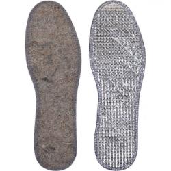 Стельки для обуви с фольгой войлочные р-р38-48