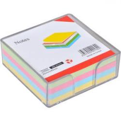 Бумага для заметок COLOR-IT не клееная 85х85мм 300 листов разноцветная KP85