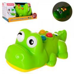 Игра Крокодил 24см (двигает головой, звук, свет, на батарейках), 0699-NL