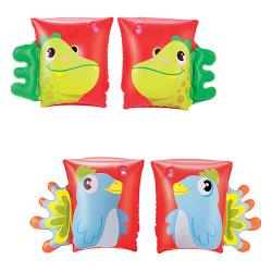 BW Нарукавники 2 вида (попугай, дракон) кор., 32115