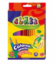 Карандаши цветные CLASS PREMIUM 18 цветов 1618